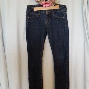 AZ Jean Co. Skinny Dark Blue Jean Size 3 average